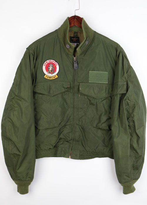 AVIREX flight jacket (made in u.s.a)