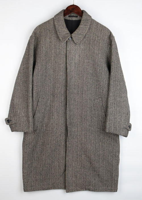 JUN MEN over tweed coat