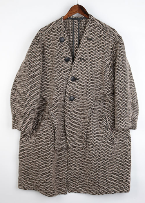 dessin tweed over coat