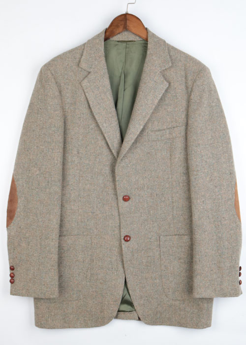 vtg tweed wool jacket