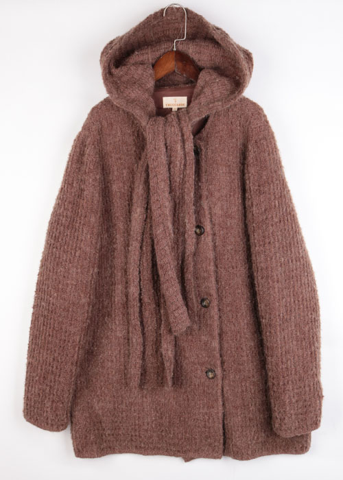TRUSSARDI knit coat