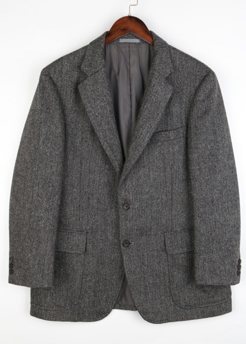 Burberrys tweed wool jacket
