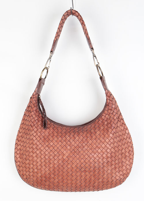 ESTINA weaving leather bag