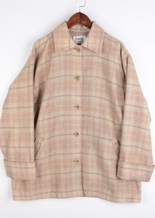 SUNFORD over size wool jacket