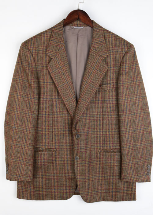 90's BALENCIAGA tweed wool jacket