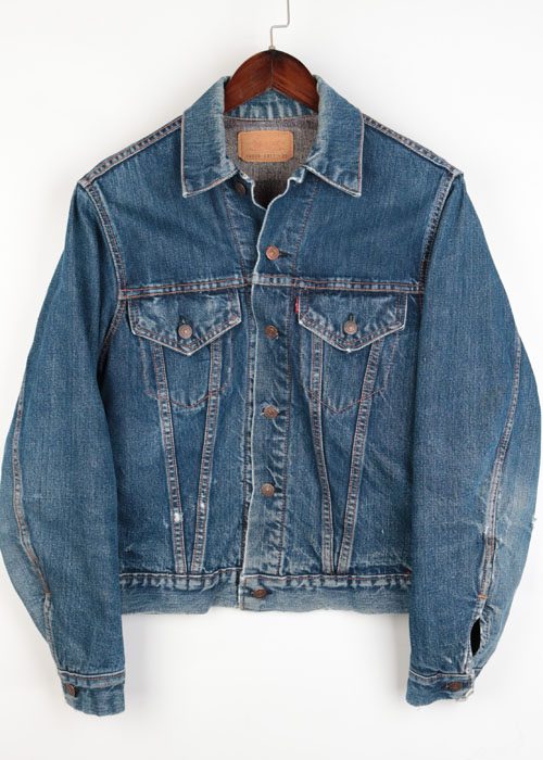 60~70's LEVI'S 70505-0317 (TROY LINING)
