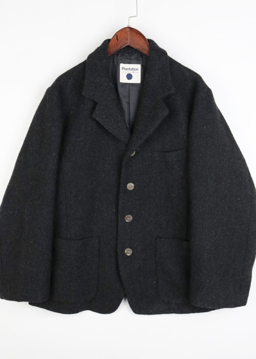 Plantation tweed wool jacket