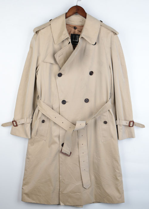 dunhill trench coat