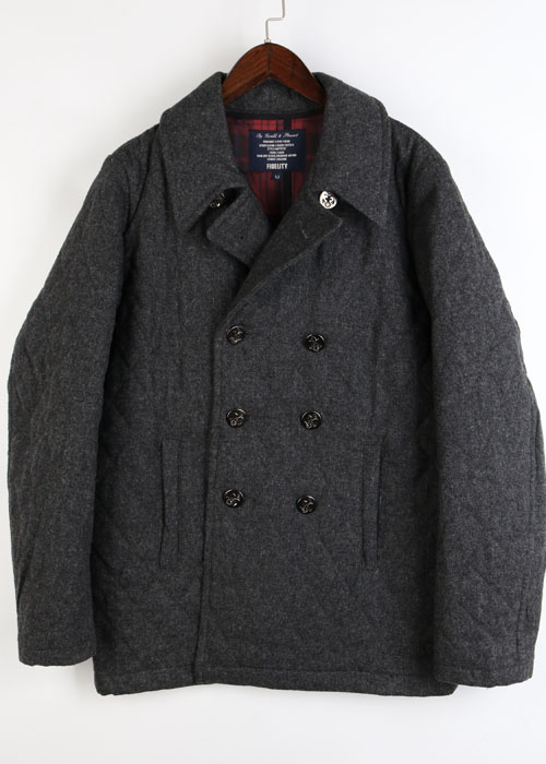 FIDELITY wool quilting jacket