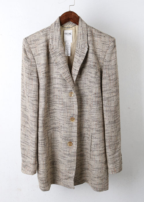 CELINE tweed jacket