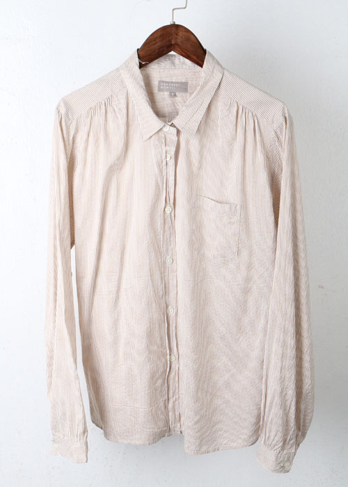 MARGARET HOWELL silk blend blouse