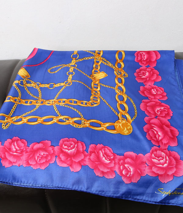 CHANEL for Sophisticato PARIS silk scarf