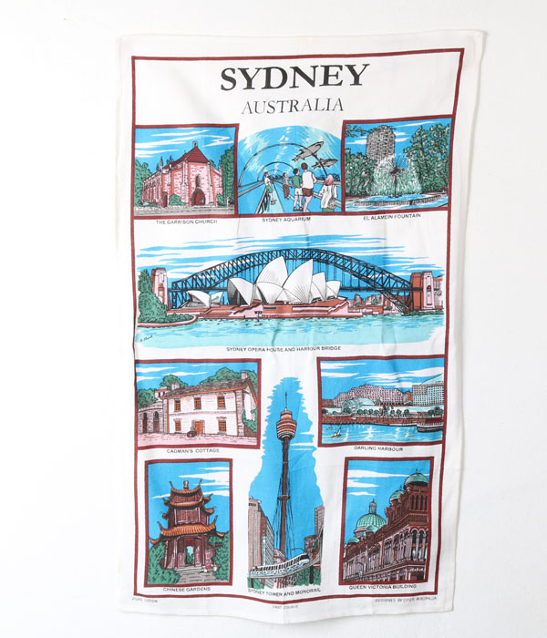 AUSTRALIAN TEA TOWEL COLLECTION