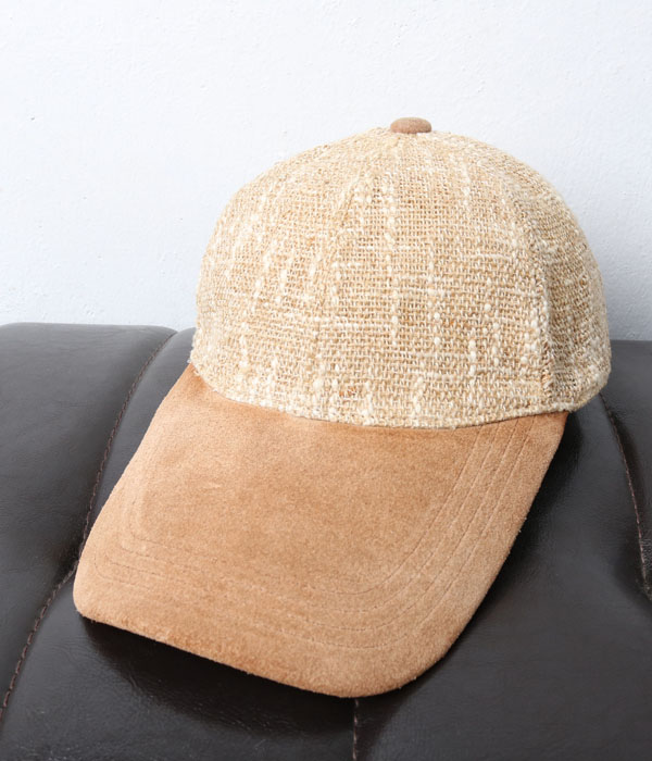 GLEN FIELD hemp+leather cap