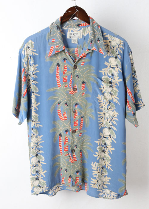 AVANTI silk hawaiian shirts