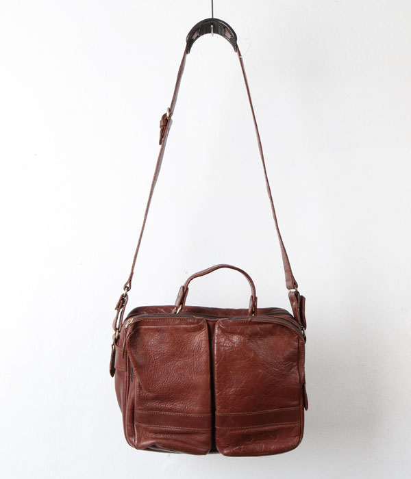 THE LARRY'S BURRY leather bag