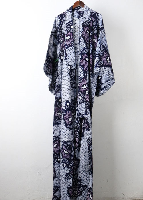 japan traditional indigo yukata
