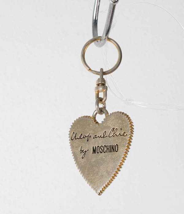 MOSCHINO key ring