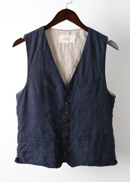 CONFECT by nest robe linen vest