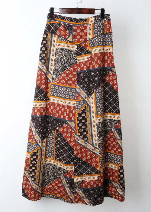 french fabric skirt